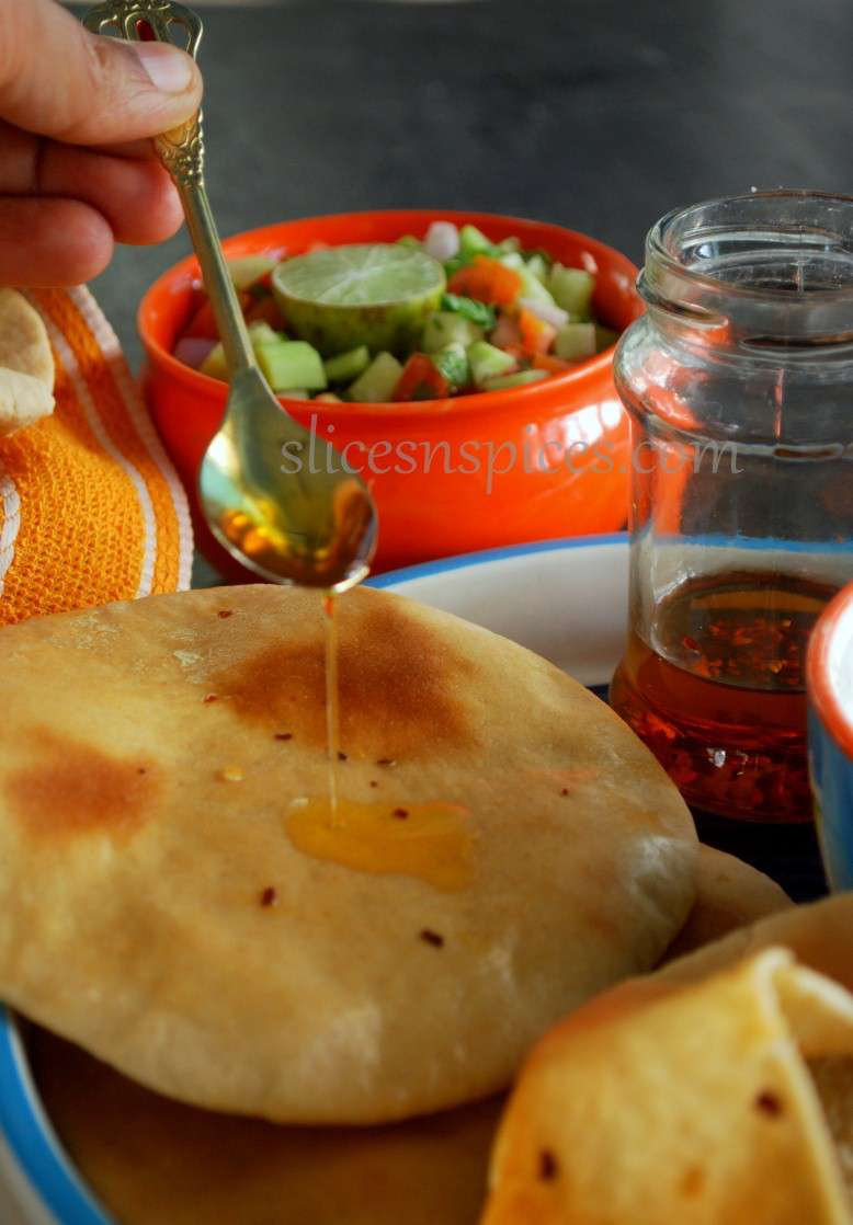 pita bread and muhammara 8