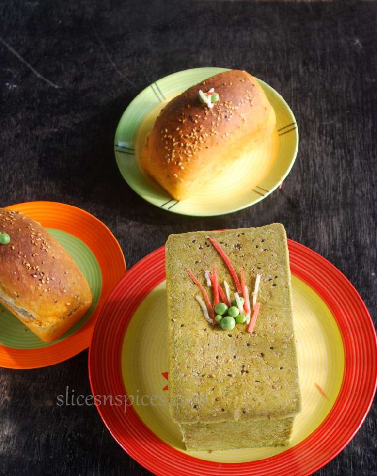 tri colour bread 2